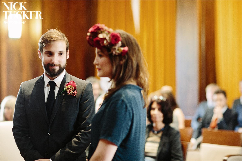 stoke newington wedding ceremony