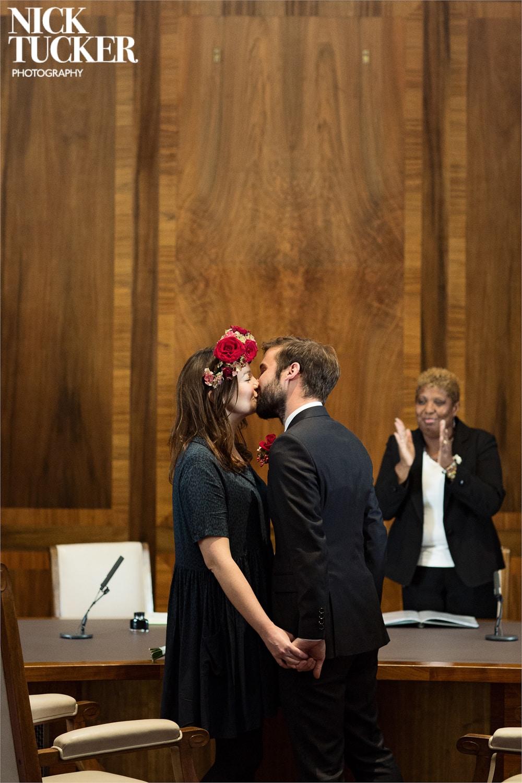 newington town hall wedding ceremony