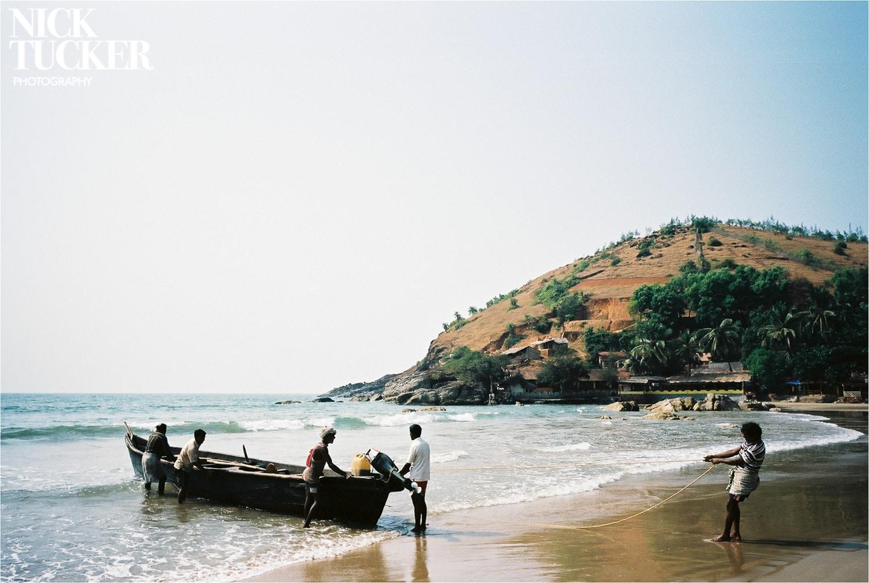 fishermen on kuble beach