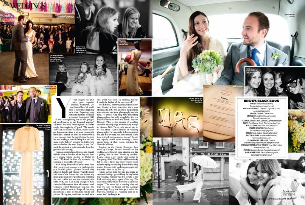 wedding article harpers bazaar