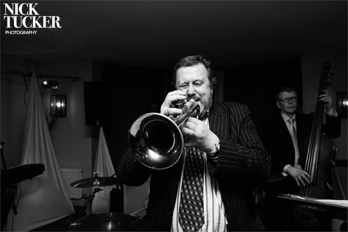 jazz trumpeter wedding band