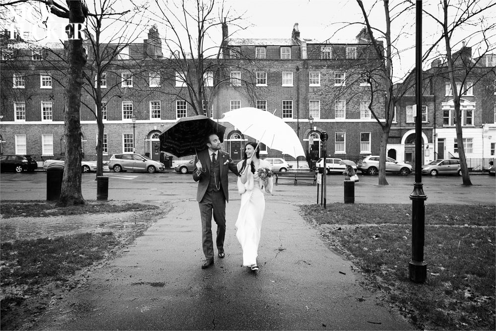 highbury fields wedding walk