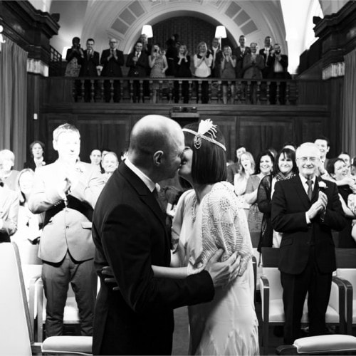 first kiss at stoke newington town hall