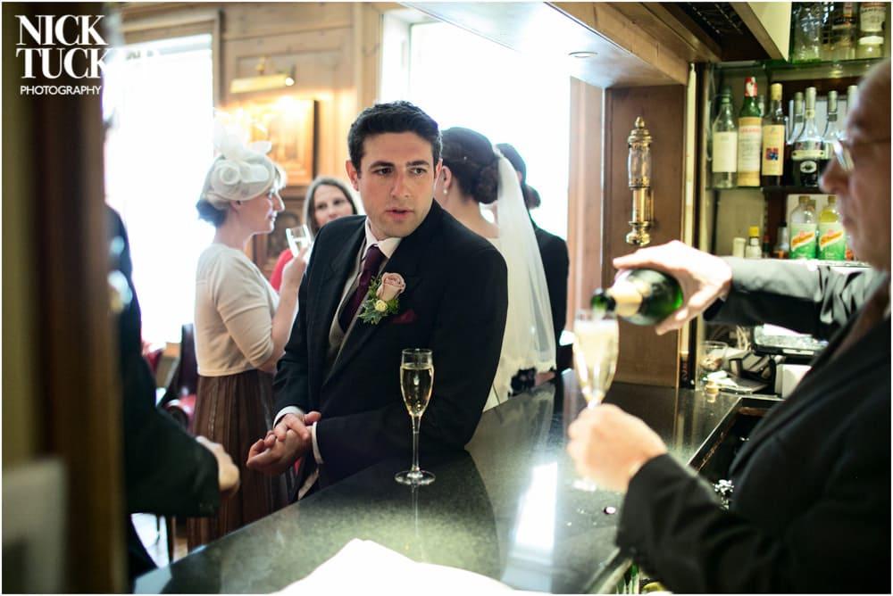 london club wedding drinks