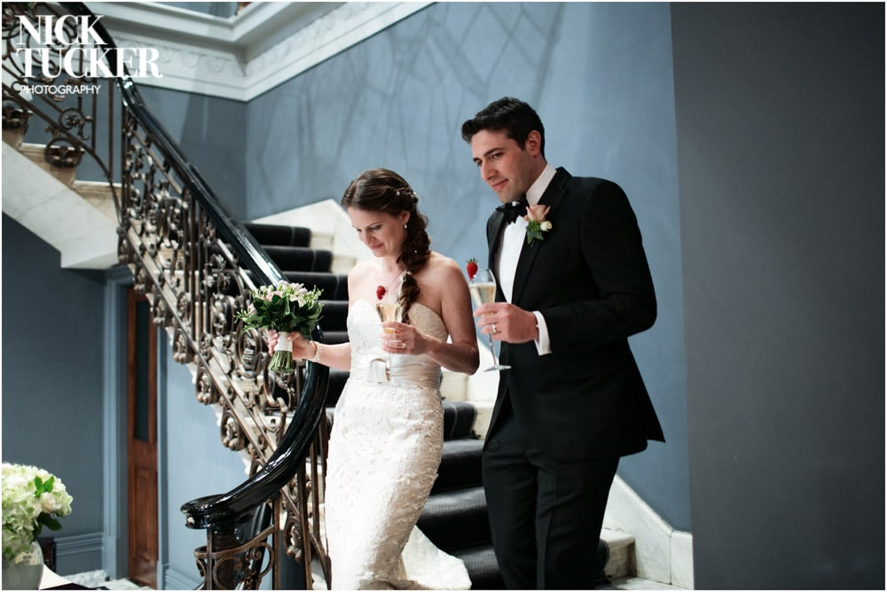arts club wedding photography