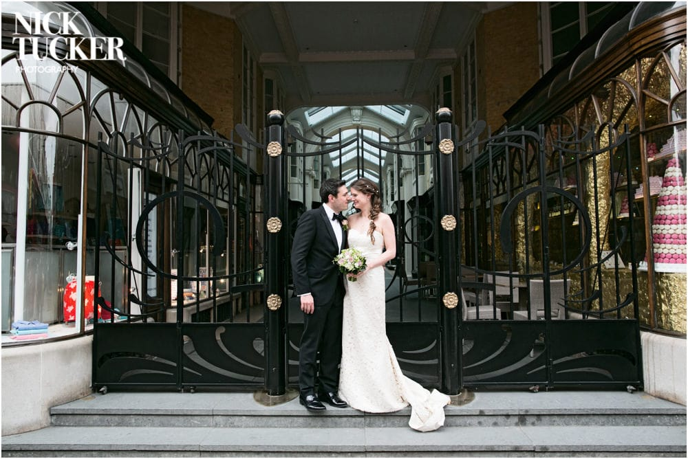 burlington arcade wedding photography