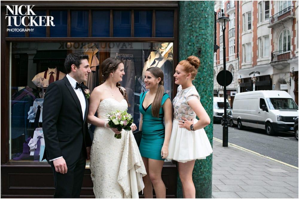 jermyn street wedding photography