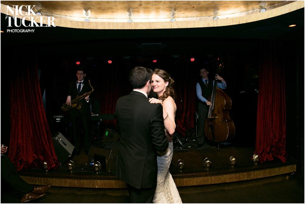 arts club dancefloor wedding