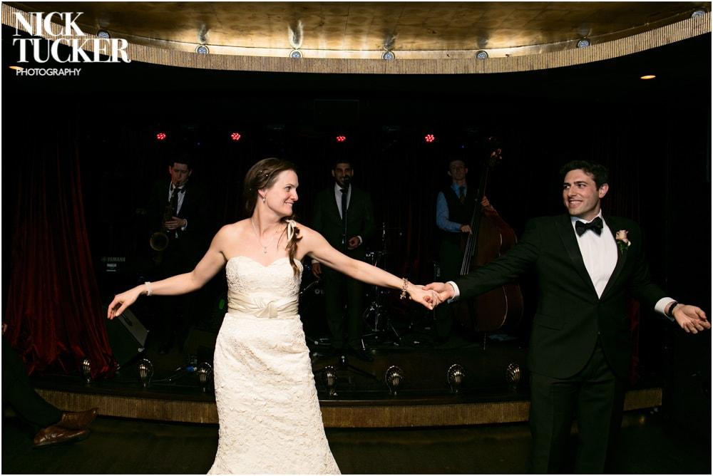arts club dancefloor wedding photography