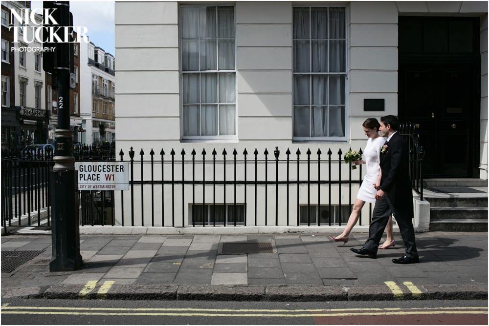 wedding walk between venues