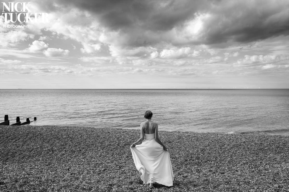 whitstable wedding photography bride