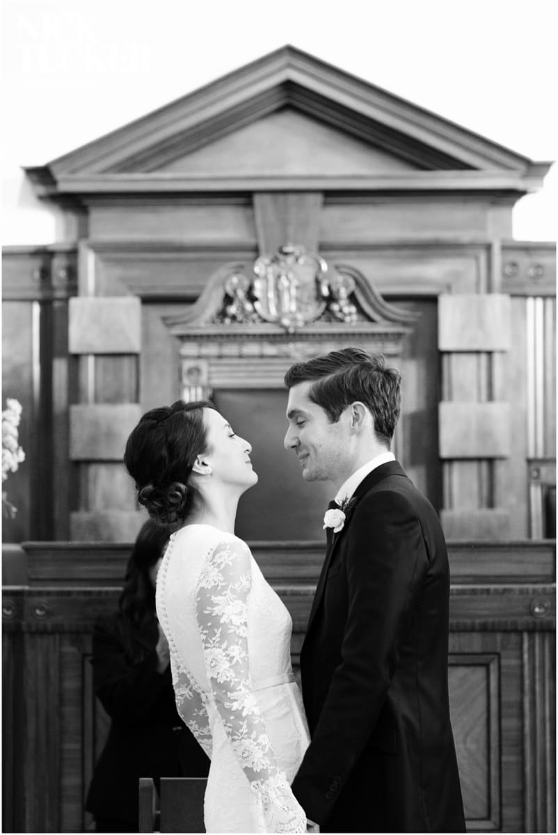 Bethnal Green Town Hall Hotel ceremony