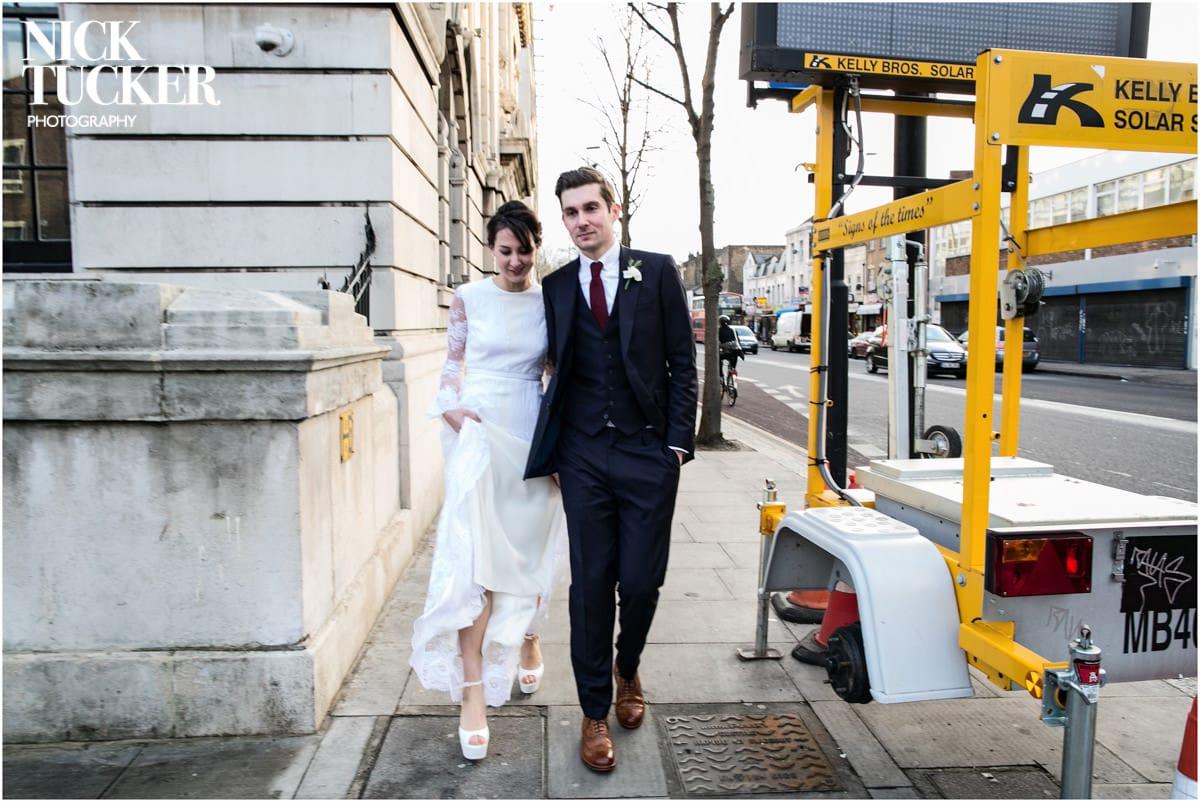 urban london wedding shoreditch
