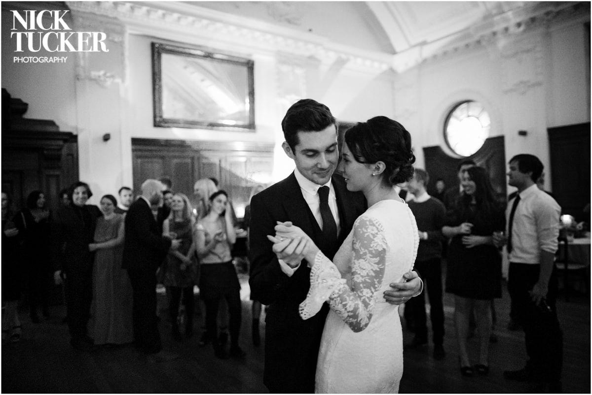 Bethnal Green Town Hall Hotel wedding first dance