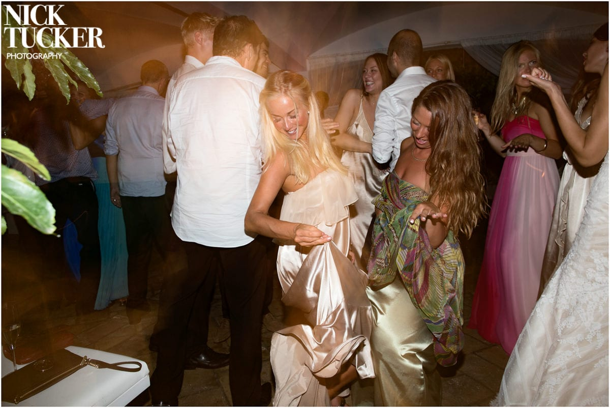 st tropez wedding dancefloor
