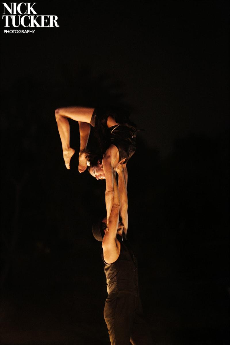 acrobats wedding party
