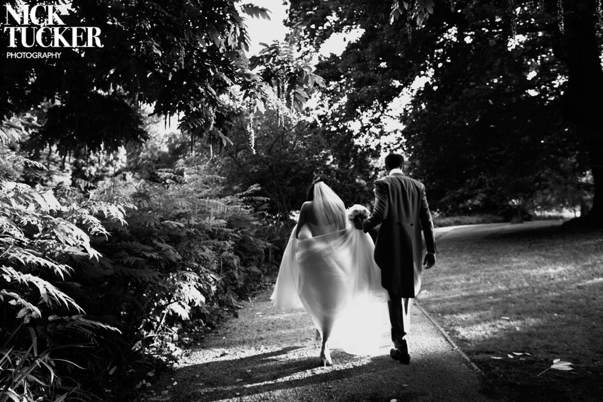 romantic syon park wedding