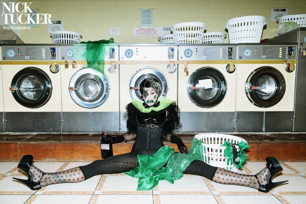 laundrette burlesque photography