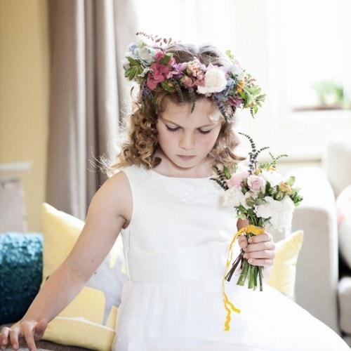 miss pickering flower girl