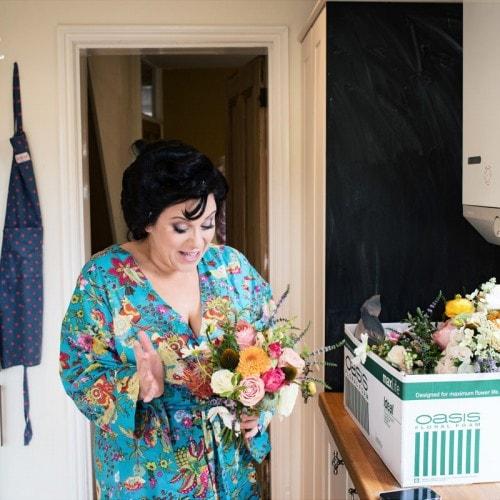 miss pickering wedding bouquet