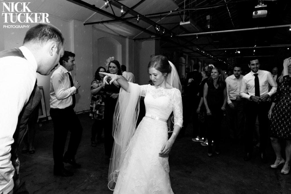 playful wedding photography