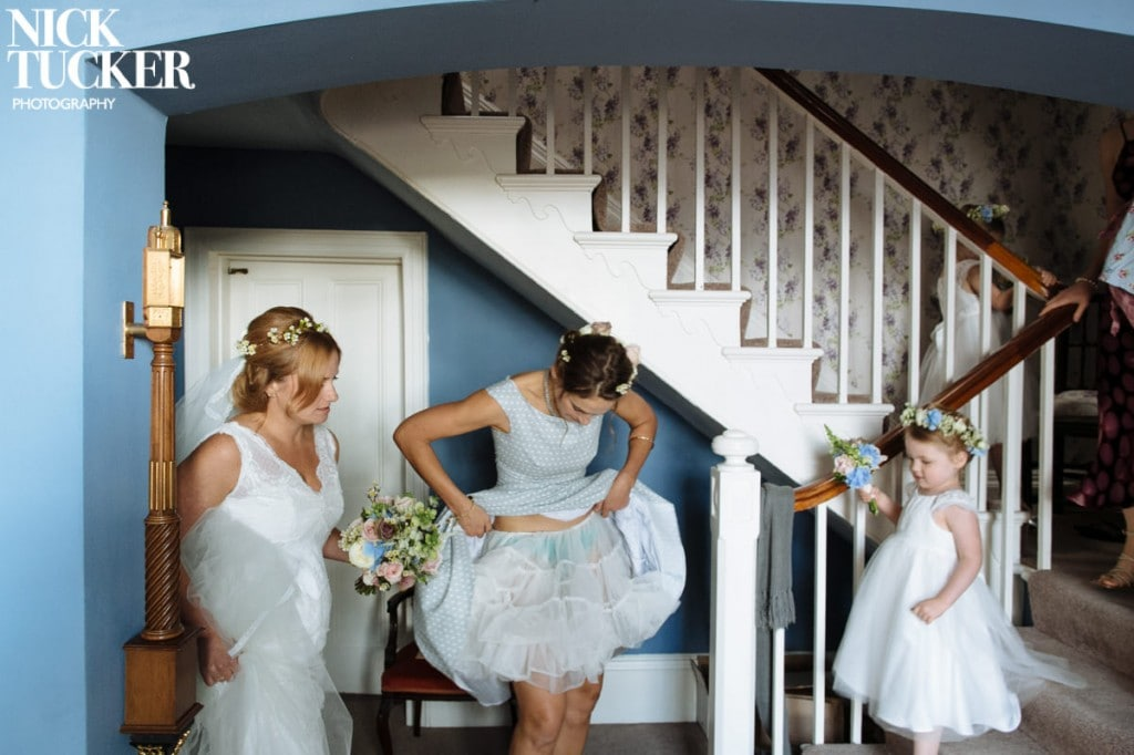 humour in wedding photography
