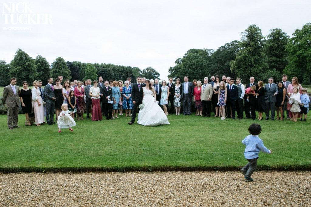 kids in wedding group shot