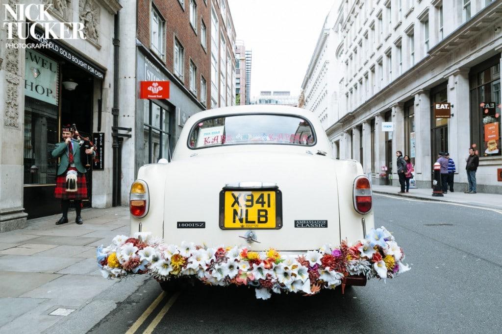 indian taxi wedding car