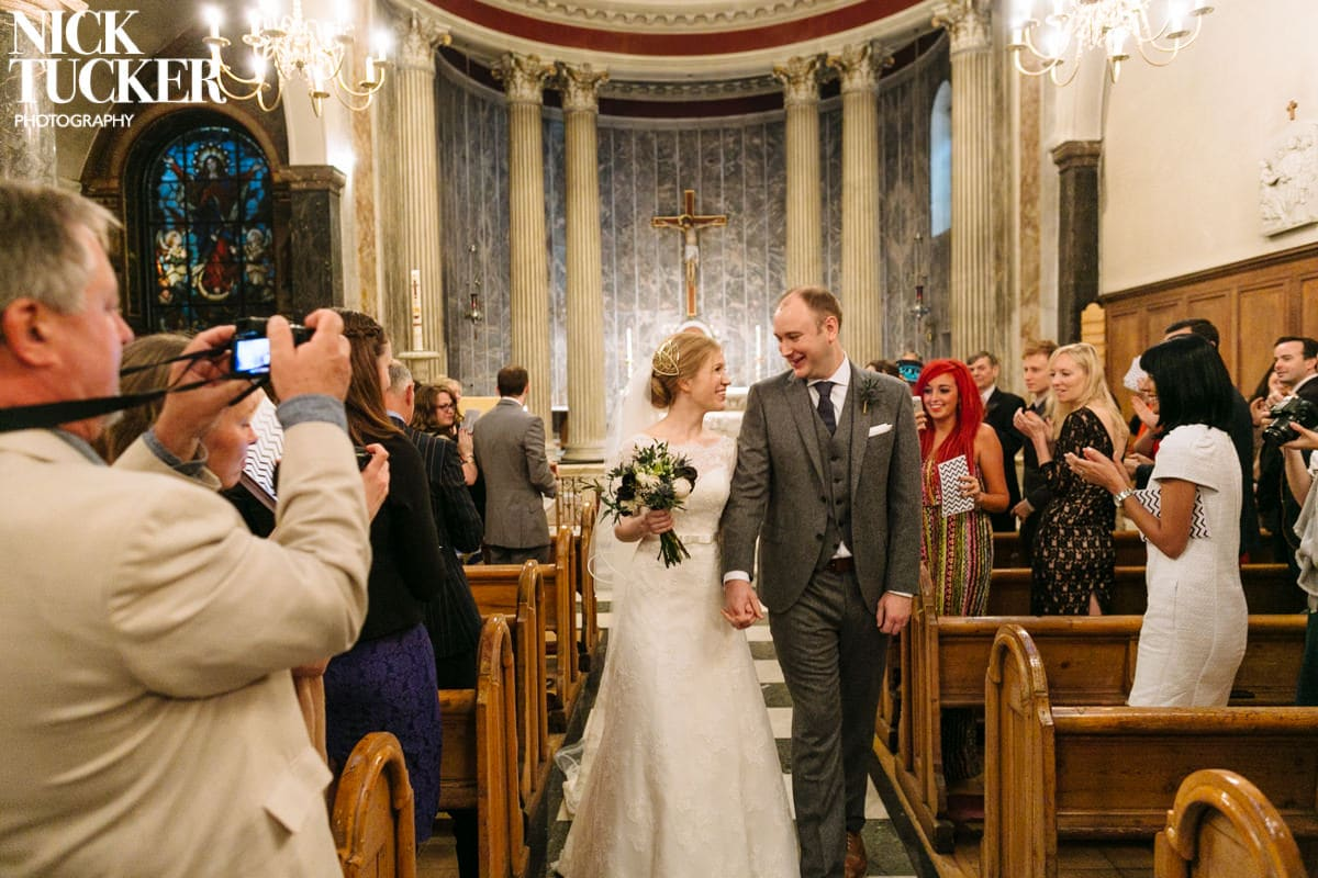 St Mary Moorfields wedding