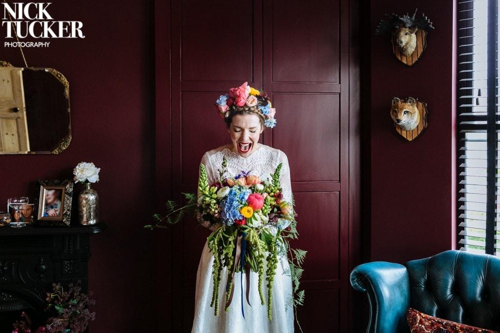 bridal excitement