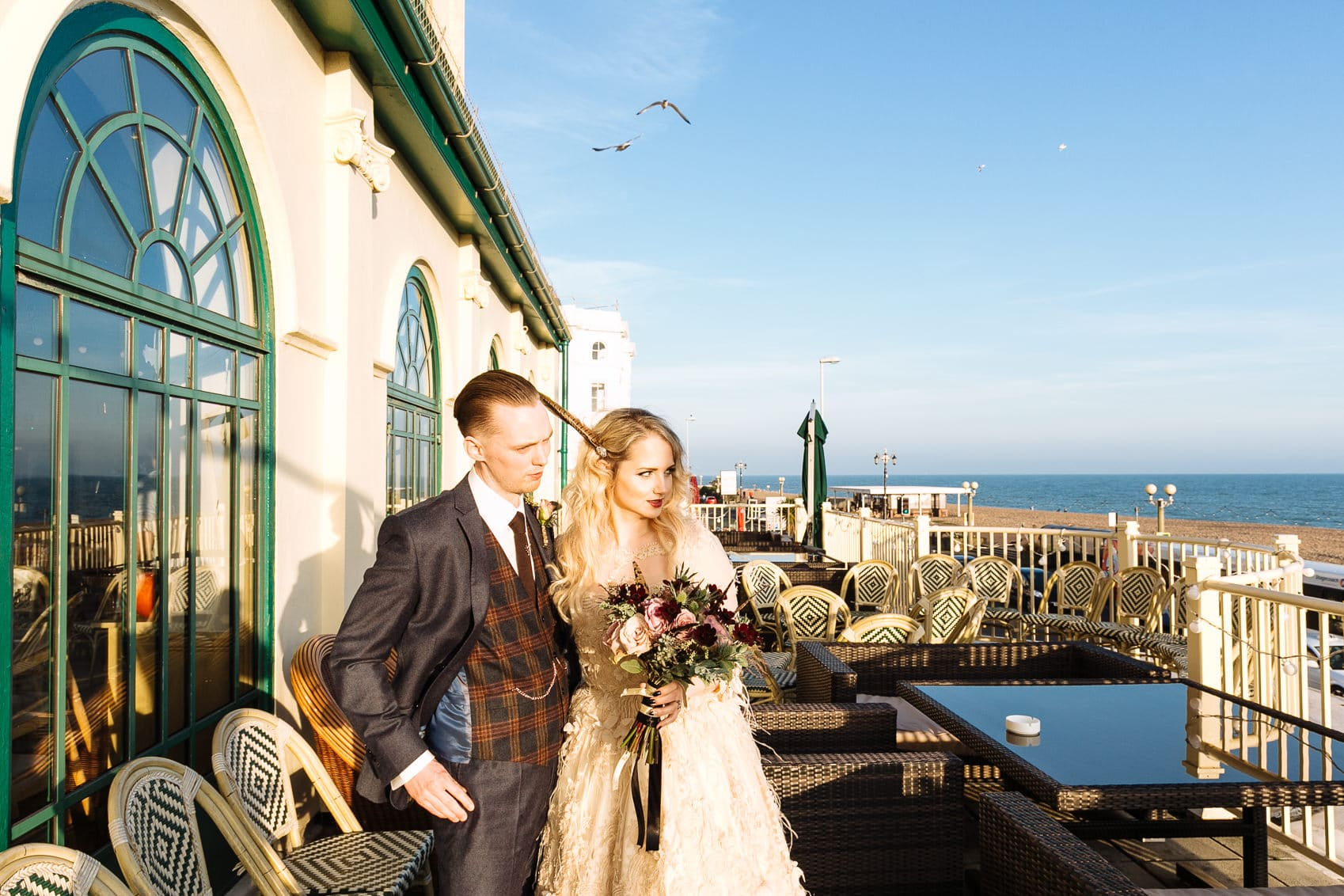 Alternative Brighton Wedding Photography