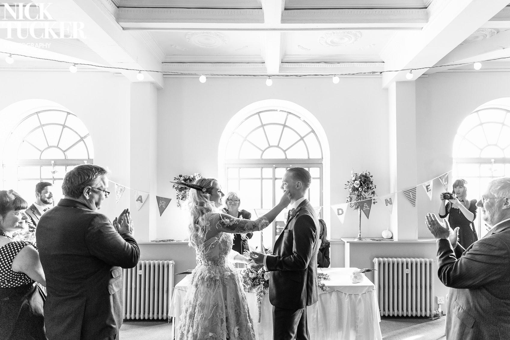 Alternative Brighton Wedding Photography | Nick Tucker Photography