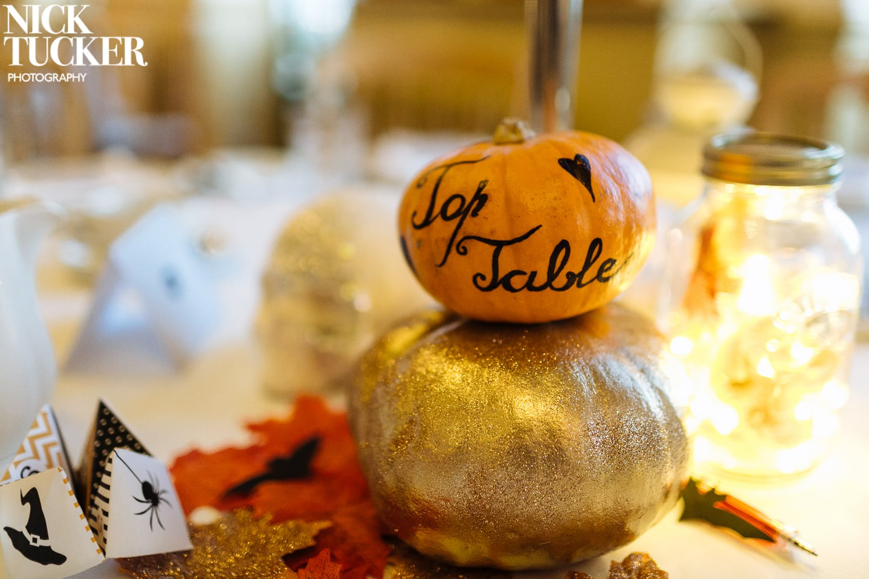 halloween top table