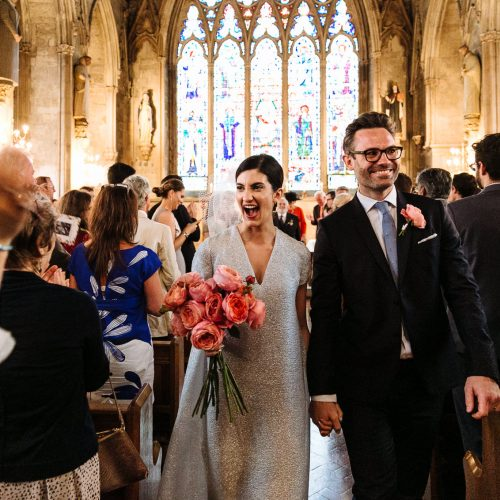 St Etheldreda's Church wedding