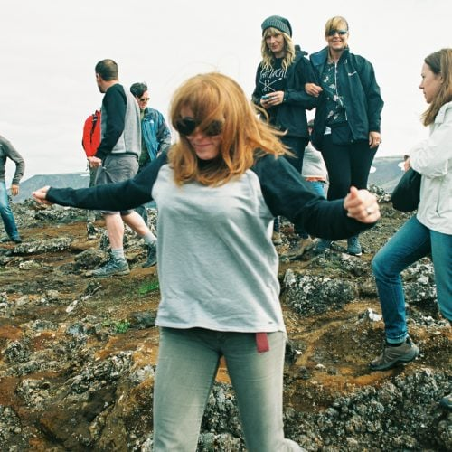 iceland wedding party
