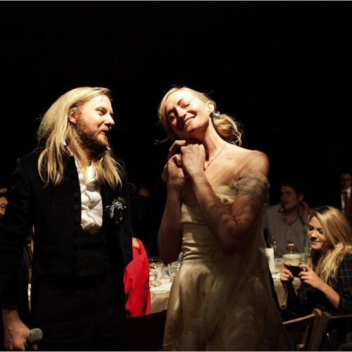 punchdrunk theatre wedding