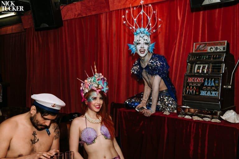 mermaid burlesque merman