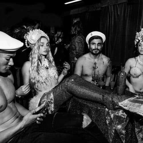 mermaid burlesque, Olivia Harriet