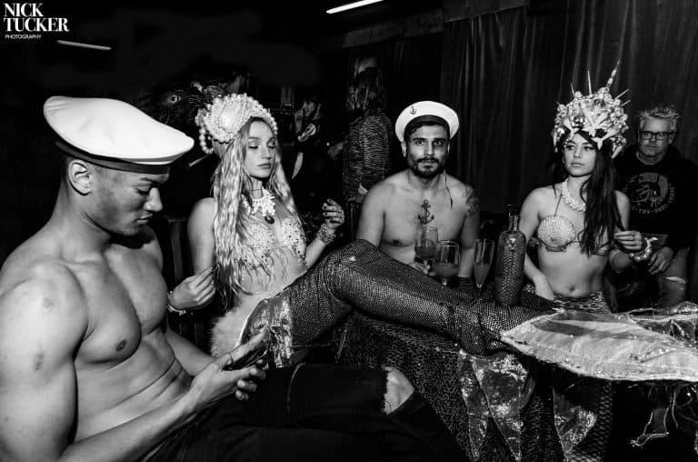 mermaid burlesque, Olivia Harriet