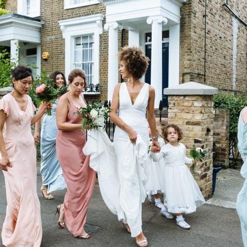 bride afro