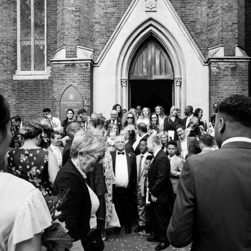 dalston church wedding