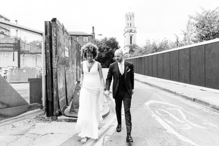 mixed race wedding photography