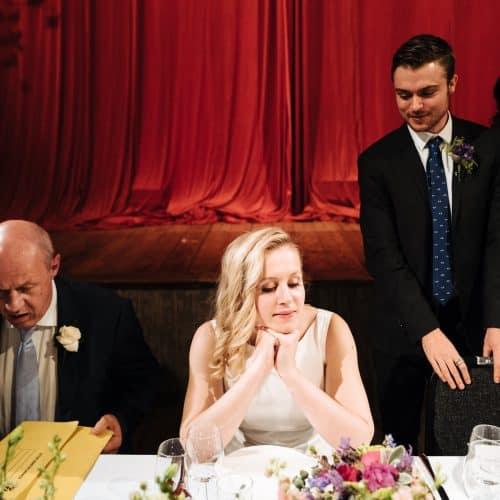 wiltons music hall wedding dinner