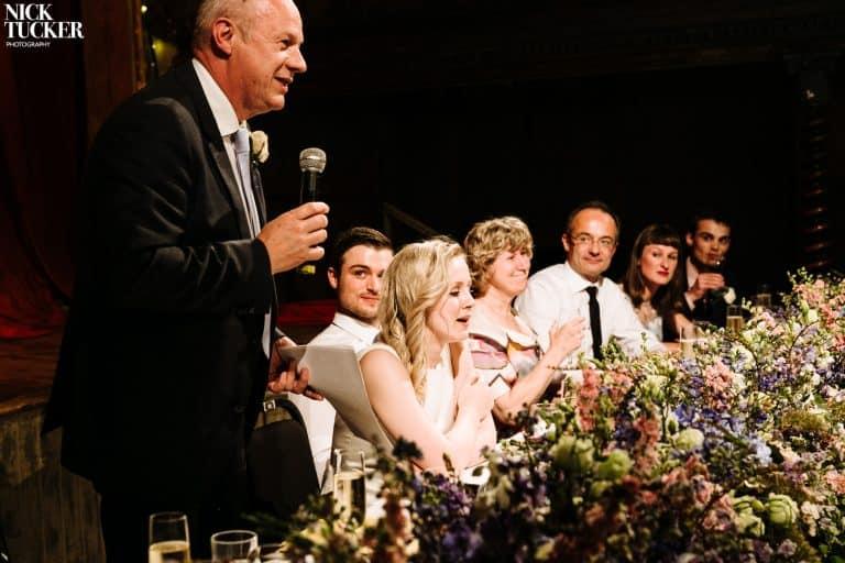wilton's music hall wedding