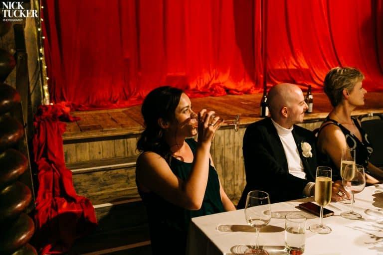 wiltons music hall wedding speeches
