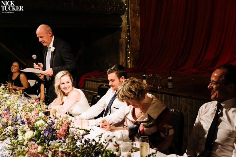 wiltons music hall wedding speeches