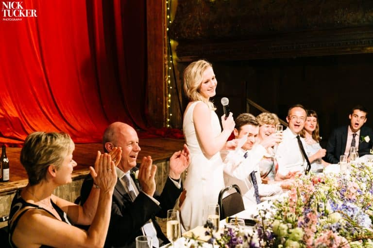 wilton's music hall wedding