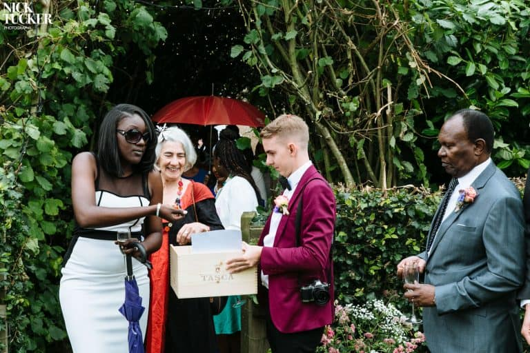 relaxed outdoor wedding photography