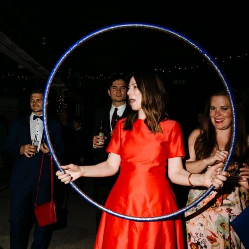 london wedding photography dancing hula hoop