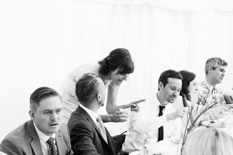 english marquee wedding documentary